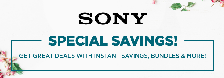 Sony deals May