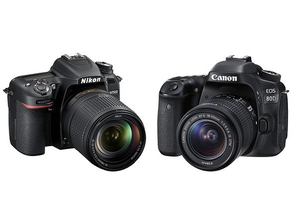 NIkon D7500 Vs. Canon 80d