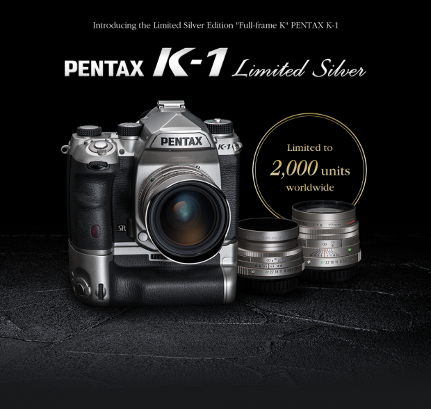 Pentax K-1 Silver Limited Edition