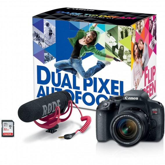 Canon T7i Bundle deal