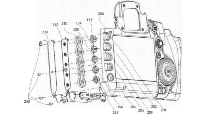Canon patentilluminatedbuttons