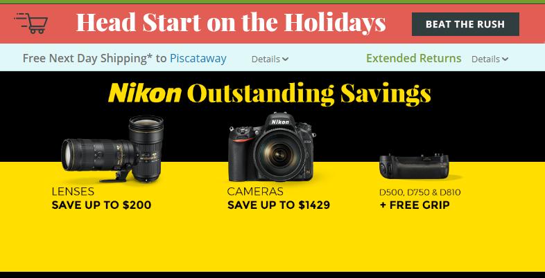 Nikon Camera deals
