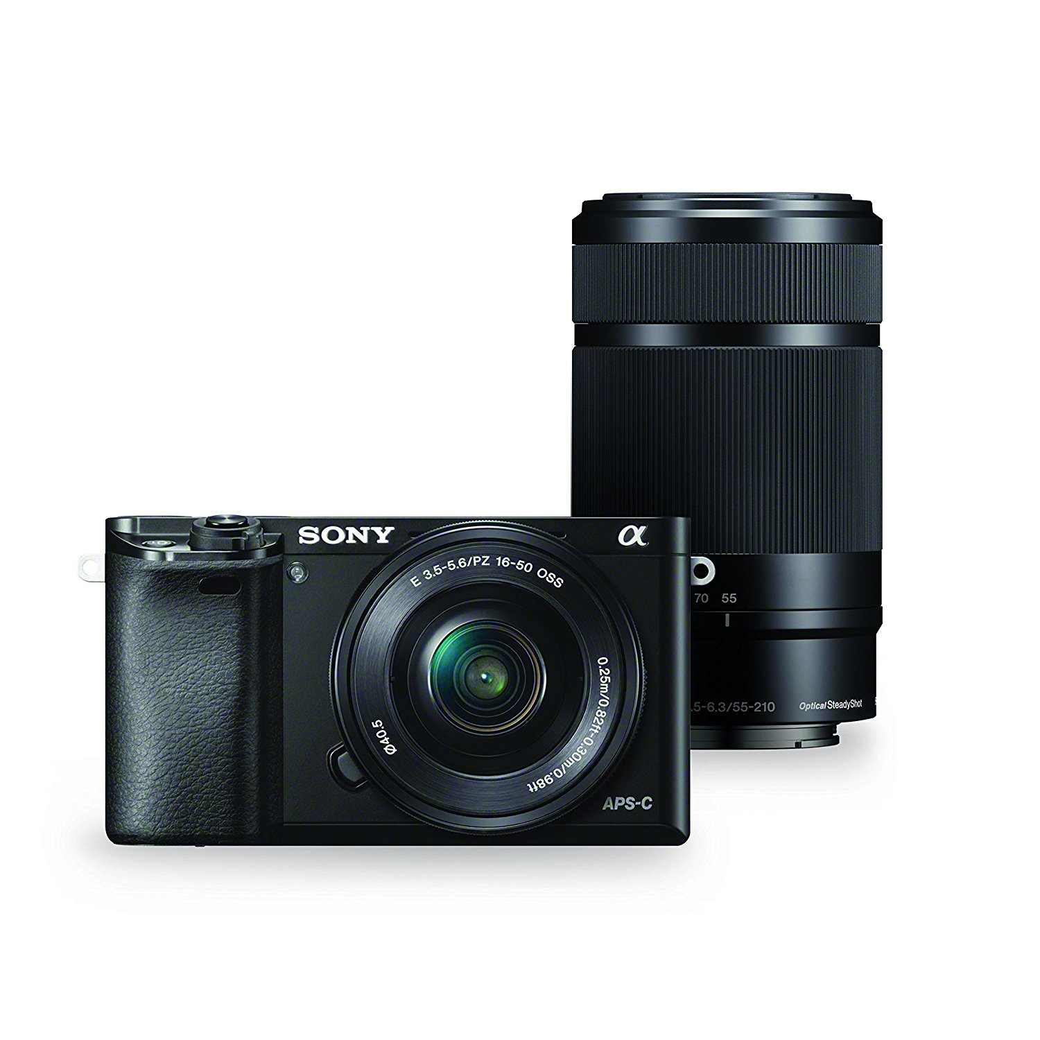 Sony Alpha a6000 with 16-50mm and 55-210mm Power Zoom Lenses