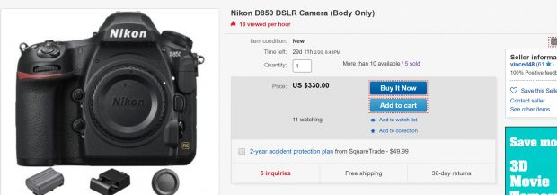 d850 deal