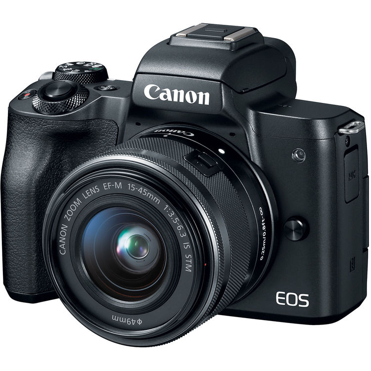 Hot Deals: Canon EOS M50 w/15-45mm Lens and Pc Free Acc Bundle for $599!