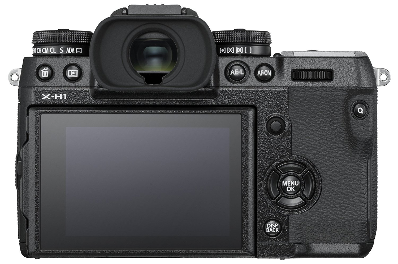 Fujifilm X-H1 back