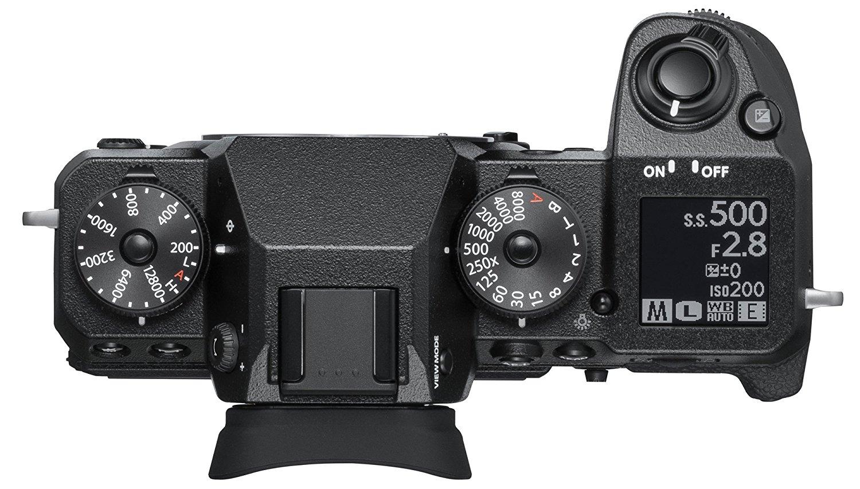 Fujifilm X-H1 top