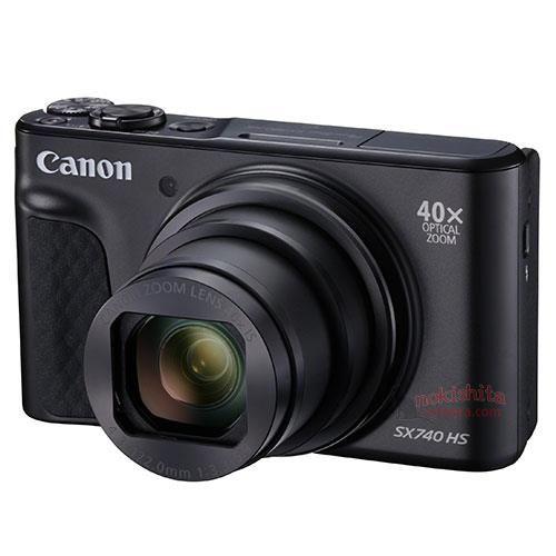 Canon PowerShot SX740 HS images