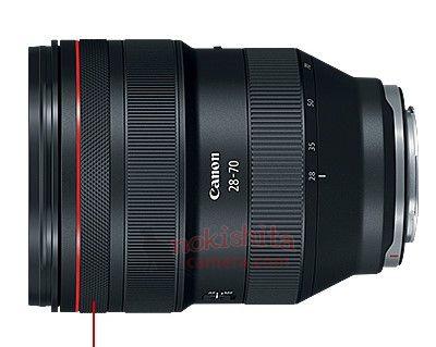 Canon RF 28-70mm lens
