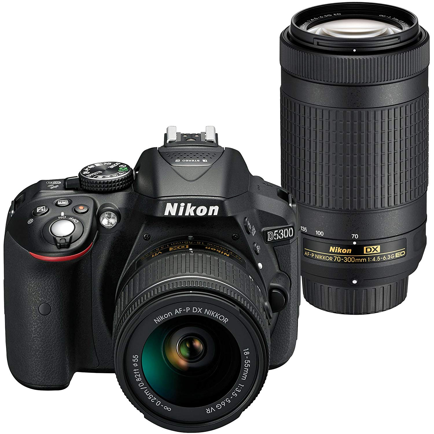 Nikon D5300 Deals Cheapest Price Camera Rumors D5200 Kit 18 55mm Vr Ii Amazon Has A Great Deal On Dslr With Af P Dx Nikkor F 35 56g 70 300mm 45 63g Ed