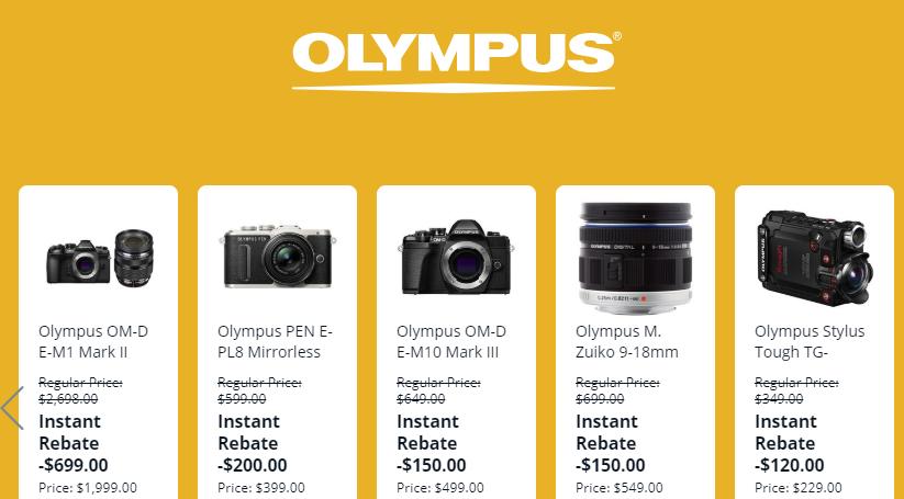 olympus m10 deals