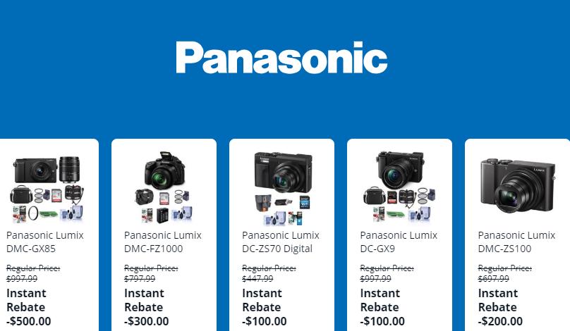 2020 Panasonic Gh5 Black Friday Cyber Monday Deals Camera Rumors