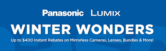 Hot Deals: Up to $400 off Panasonic Winter Deals