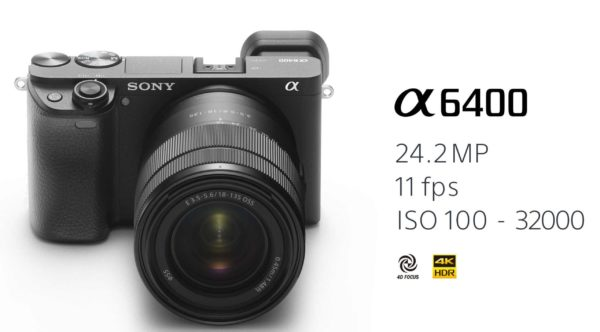 Sony A6400 Available for Pre-Order