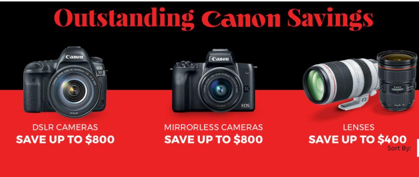 2020 Canon Lenses Black Friday Cyber Monday Deals Lens Rumors