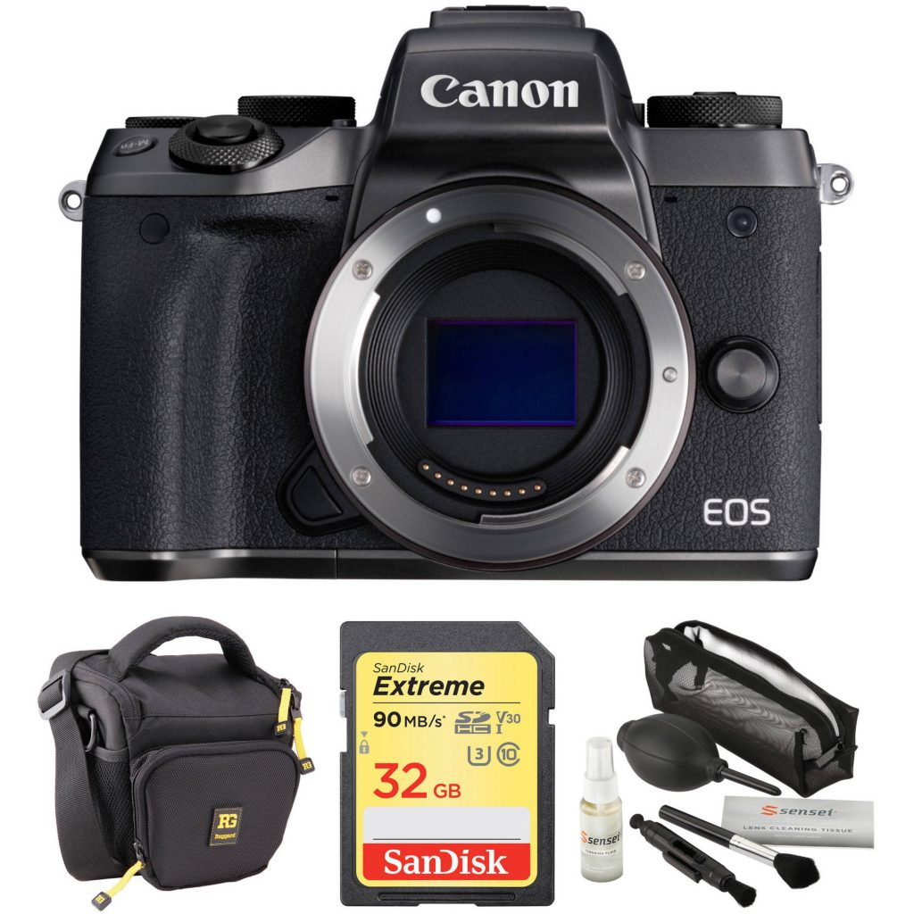 Hot Deal: Canon EOS M5 with Free Accessory Kit for $449!