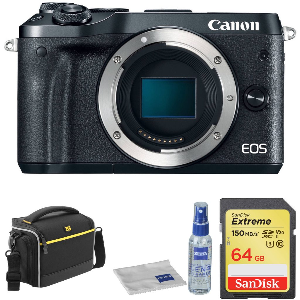 Hot Deal: Canon EOS M6 with Free Accessory Kit for $349!