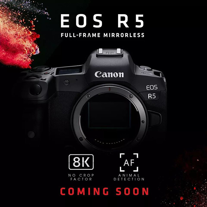 Detailed Specifications of Canon EOS R5 and R6 Leaked Online